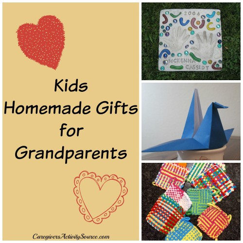 kids homemade gifts for grandparents